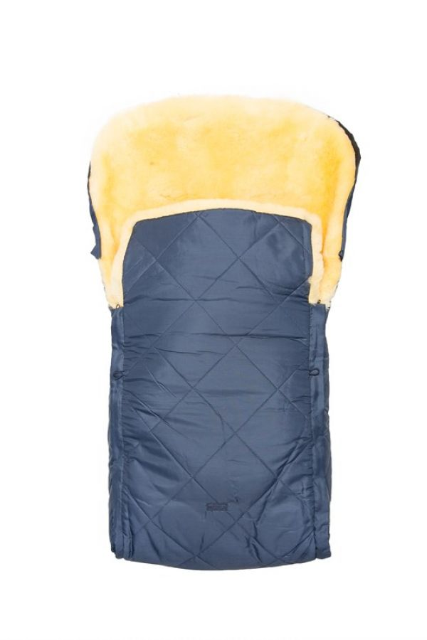 Sheepy Care Double Zippered Baby Sleeping Bag Navy blue