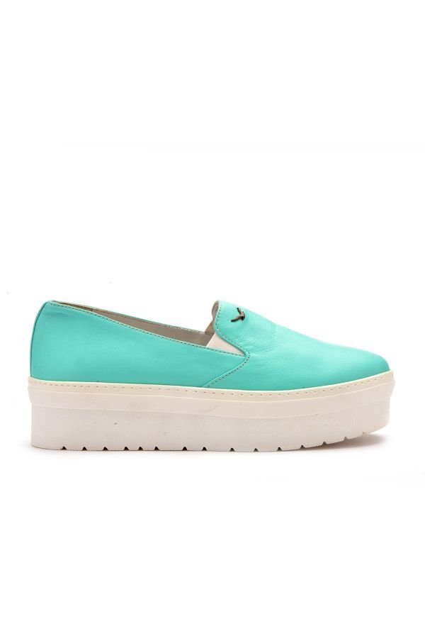 Art Goya High-Soled Women Sneakers From Genuine Leather Mint