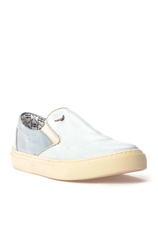 Art Goya Women Sneakers From Genuine Leather Blue