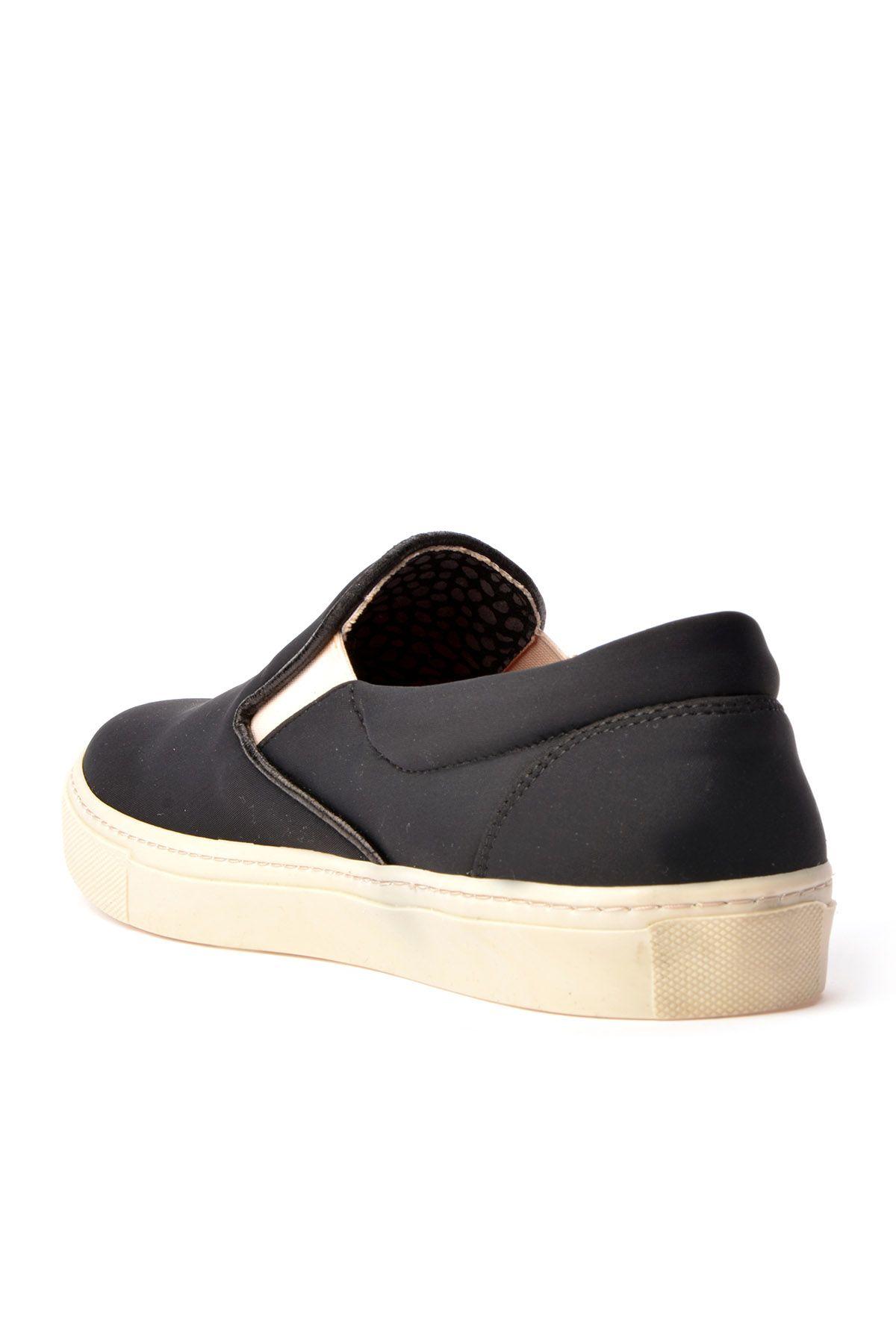 Art Goya Streç Kumaş Bayan Sneaker  Siyah