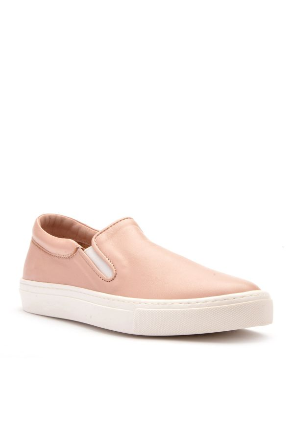 Art Goya Women Sneakers From Genuine Leather Powdery