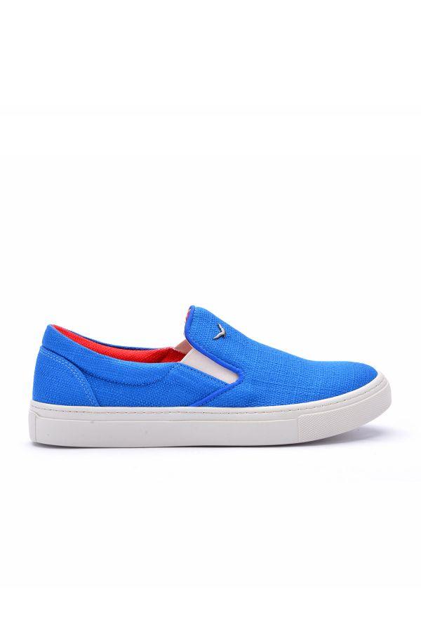 Art Goya Linen Women Sneakers Blue
