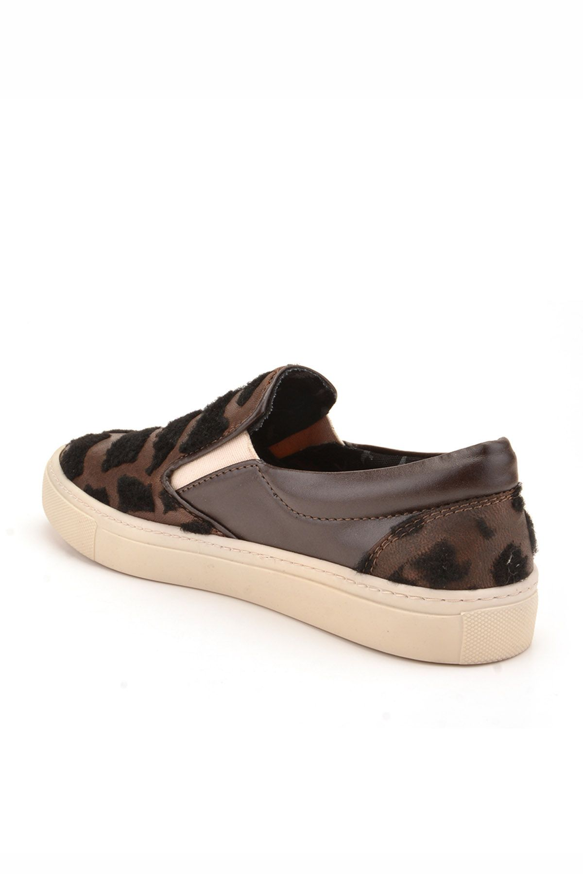 Art Goya Printed Women Sneakers Brown