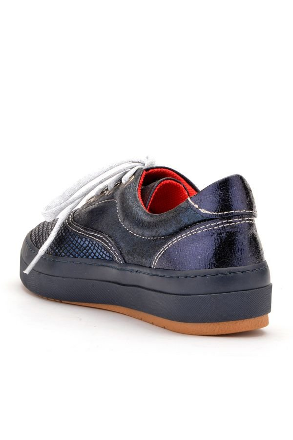 Art Goya Casual Women Shoes With Hologramme Navy blue