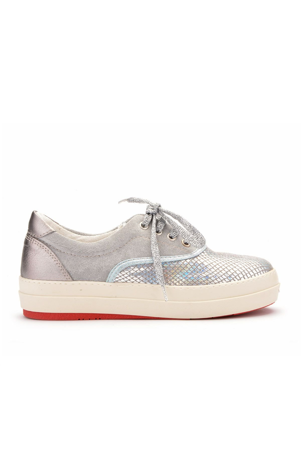 Art Goya Casual Women Shoes With Hologramme Silver