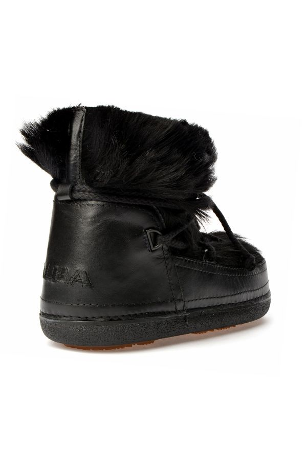 Alba Women Snowboots From Genuine Fur Black
