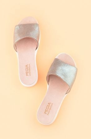 Pegia Drancy Women Slippers From Genuine Leather Mint