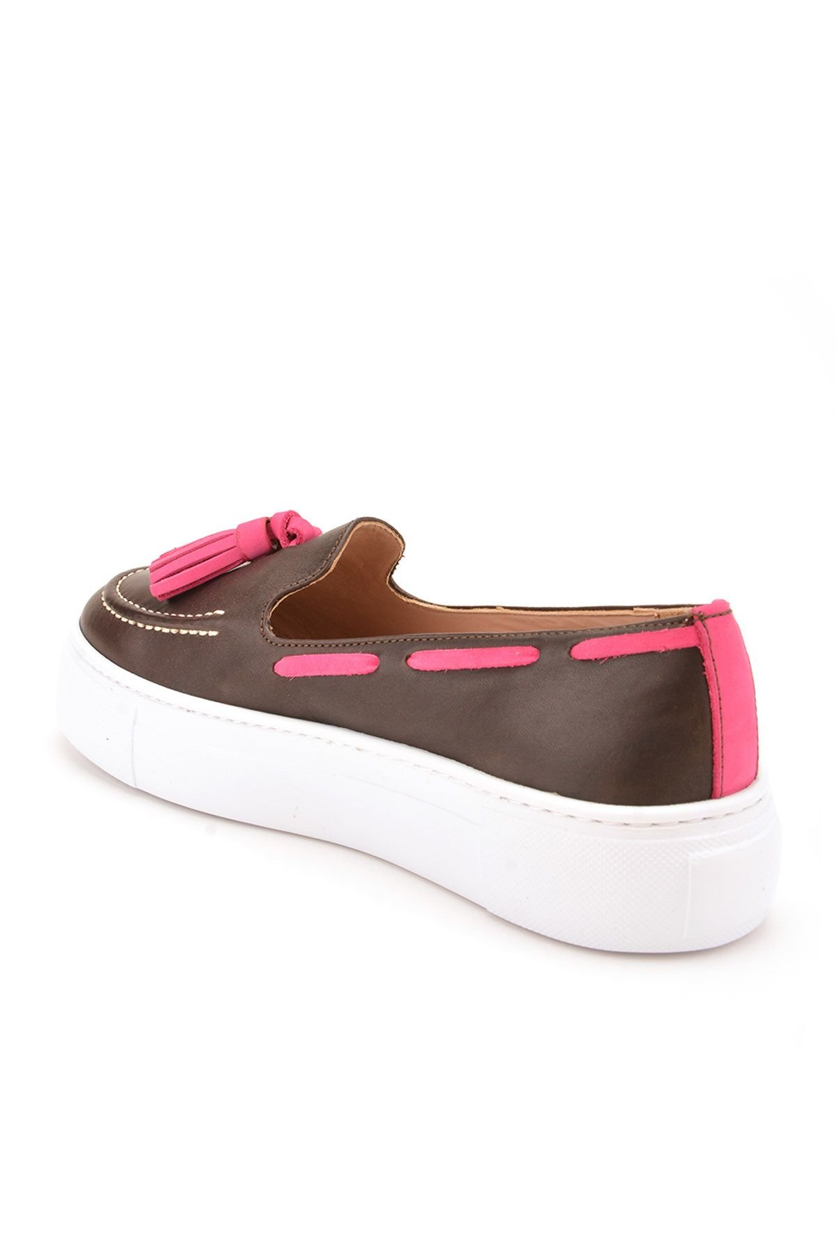 Pegia Pernety Casual Shoes From Genuine Leather Brown