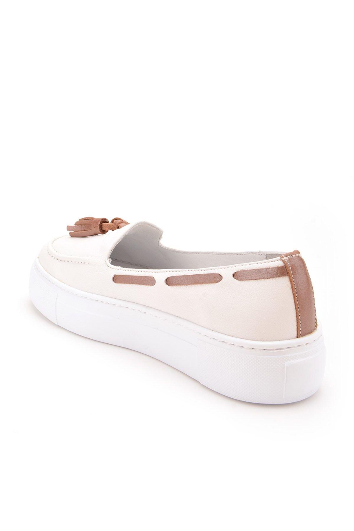 Pegia Pernety Туфли Из Натуральной Кожи  REC-010 Белый