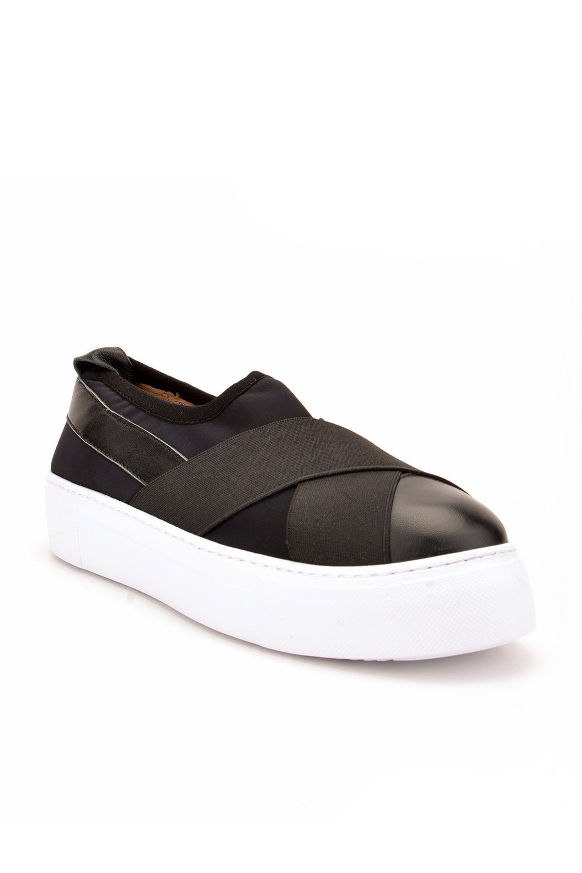 Pegia Voyage Casual Shoes From Genuine Leather Black
