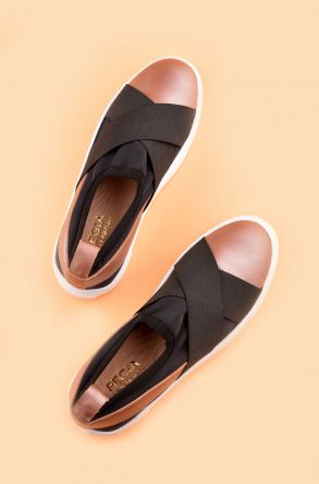 Pegia Voyage Casual Shoes From Genuine Leather Powdery