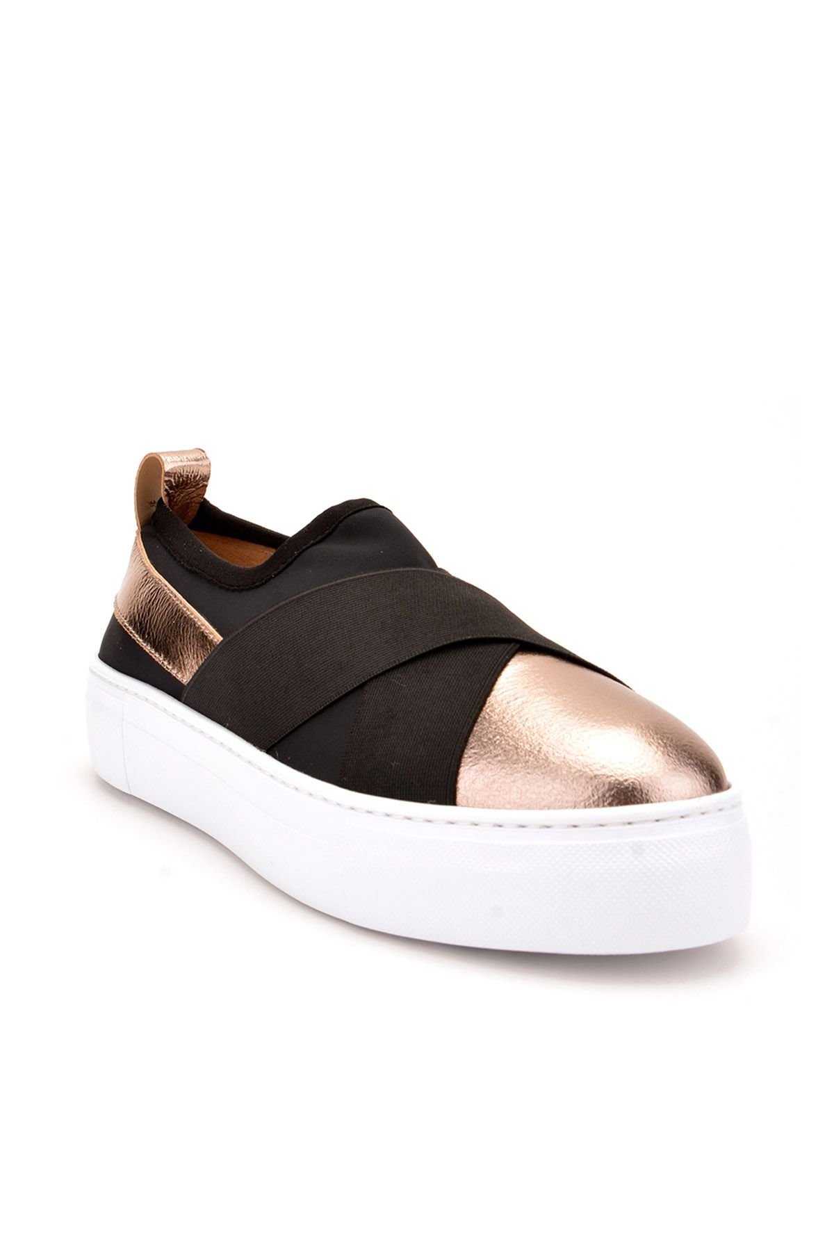 Pegia Voyage Casual Shoes From Genuine Leather Bronze