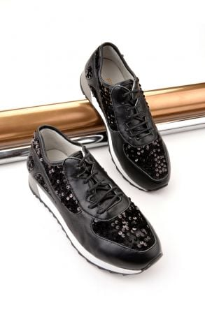 Pegia Anvers Sport Shoes From Genuine Leather Black