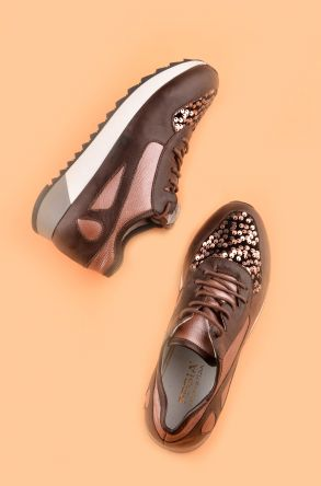 Pegia Anvers Sport Shoes From Genuine Leather Brown