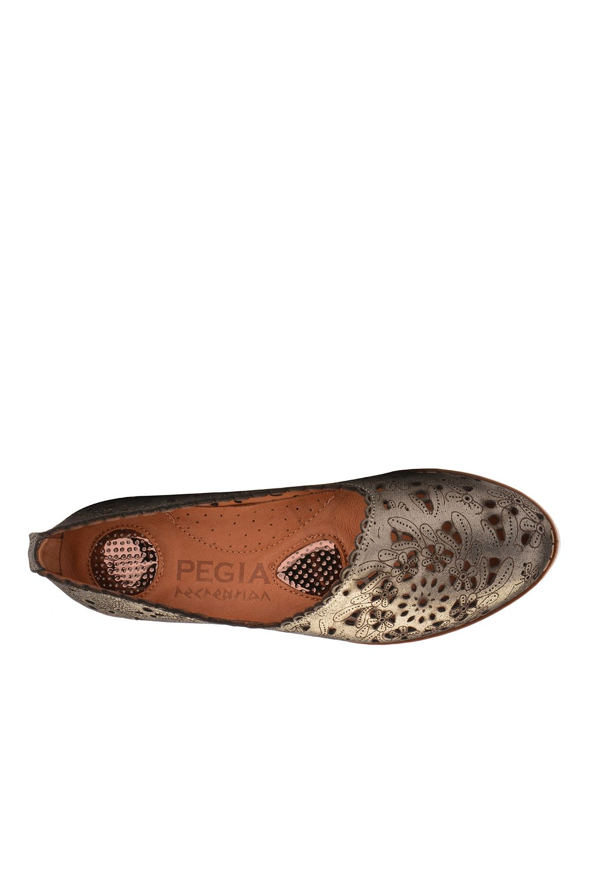 Pegia Women Shoes From Genuine Leather Black