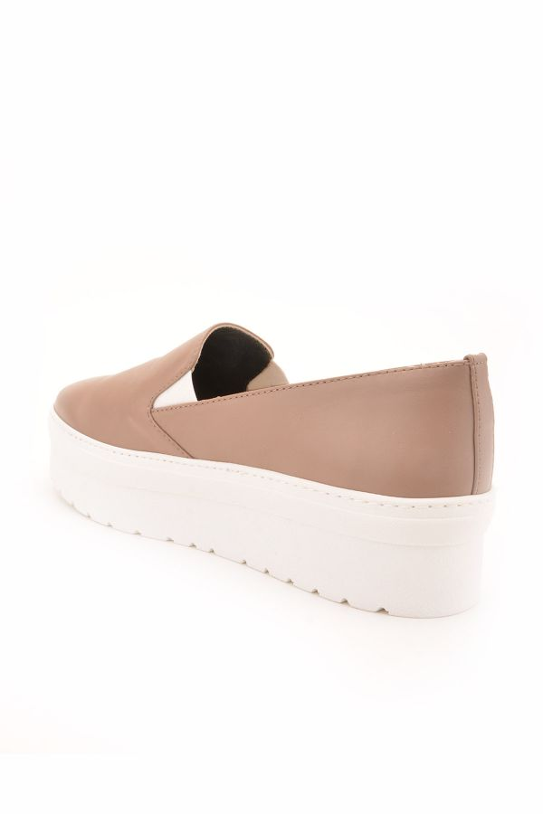 Art Goya High-Soled Women Sneakers From Genuine Leather Mink