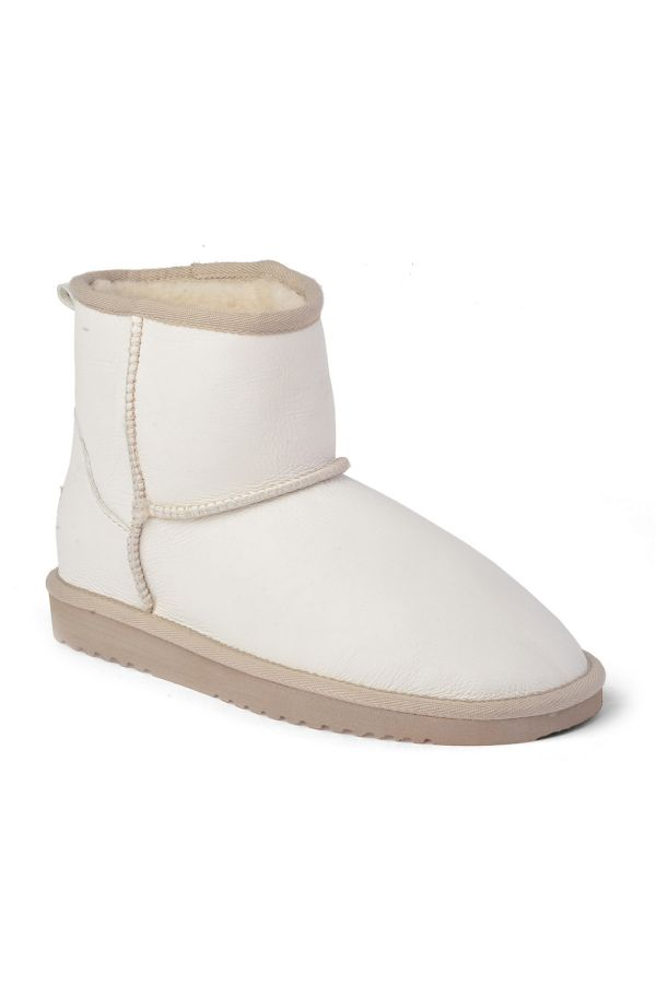 Cool Moon Women Uggs From Genuine Fur White