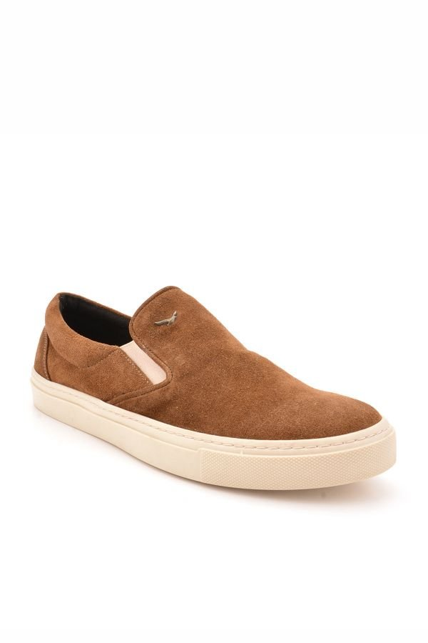 Art Goya Women Sneakers From Genuine Suede Brown