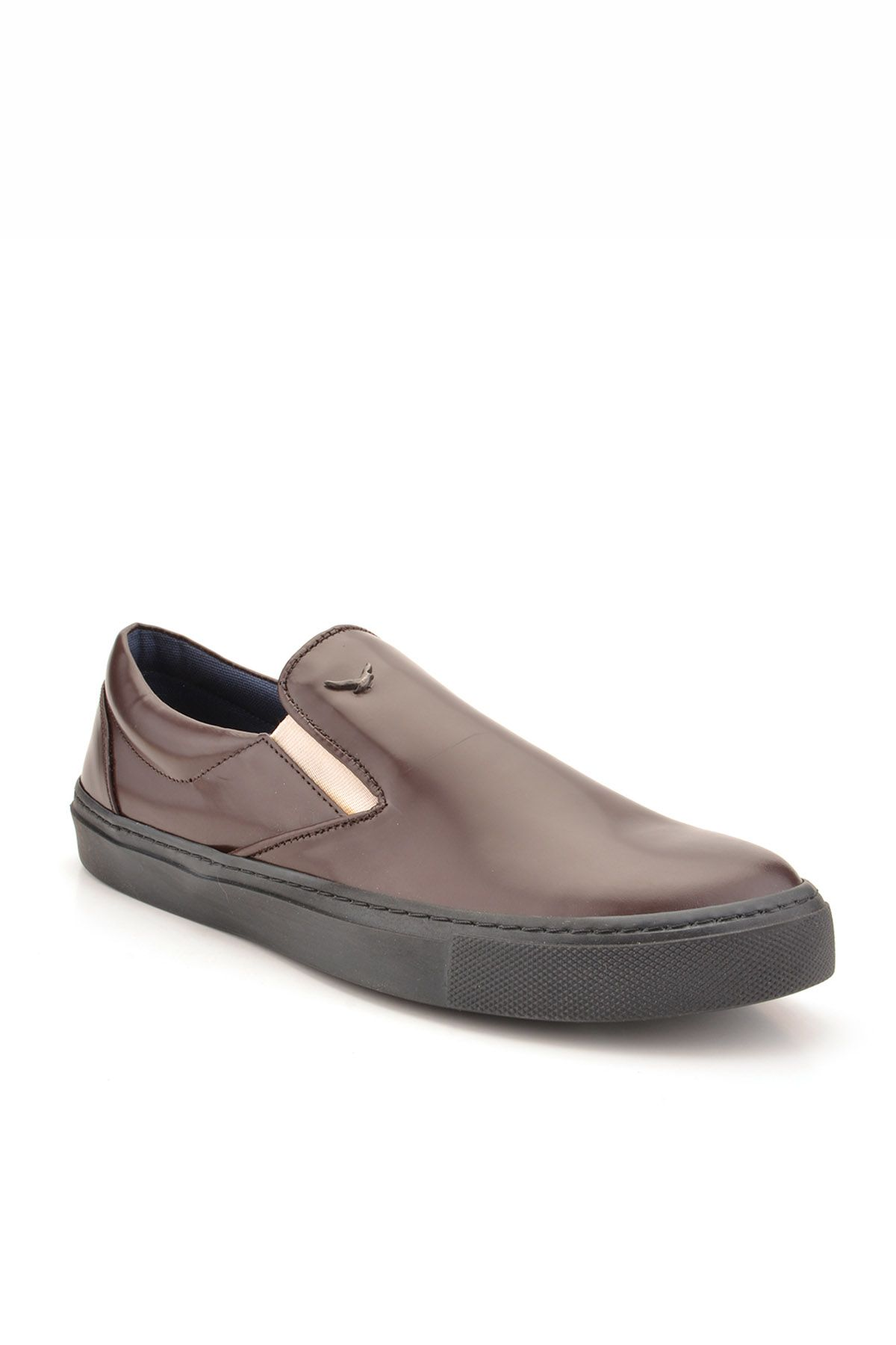 Art Goya Women Sneakers From Polished Leather Brown