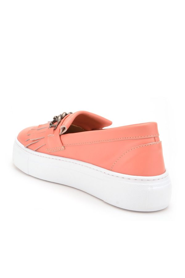 Pegia Sertier Casual Shoes From Genuine Leather Pink