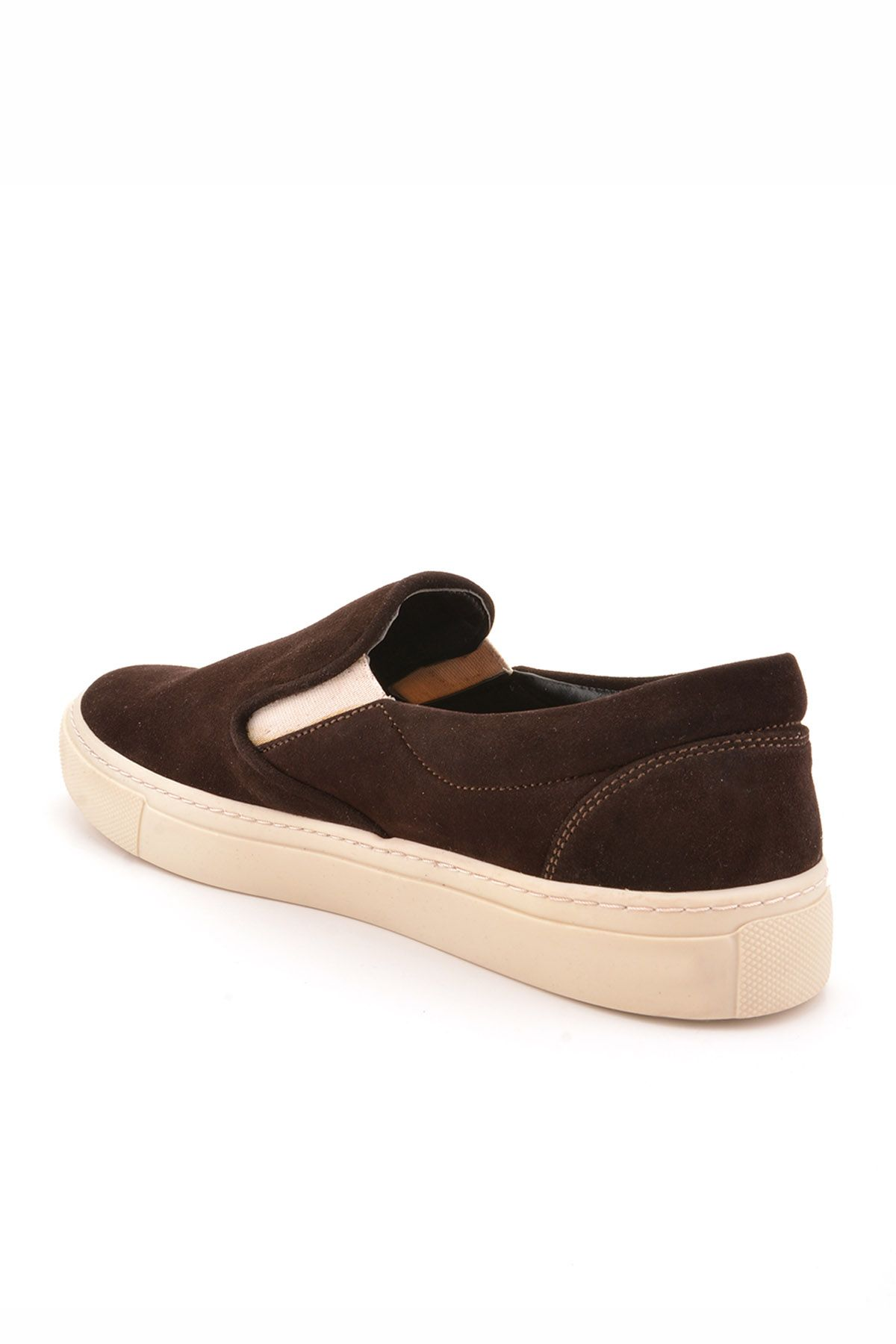 Art Goya Women Sneakers From Genuine Leather And Nubuck Dark Brown