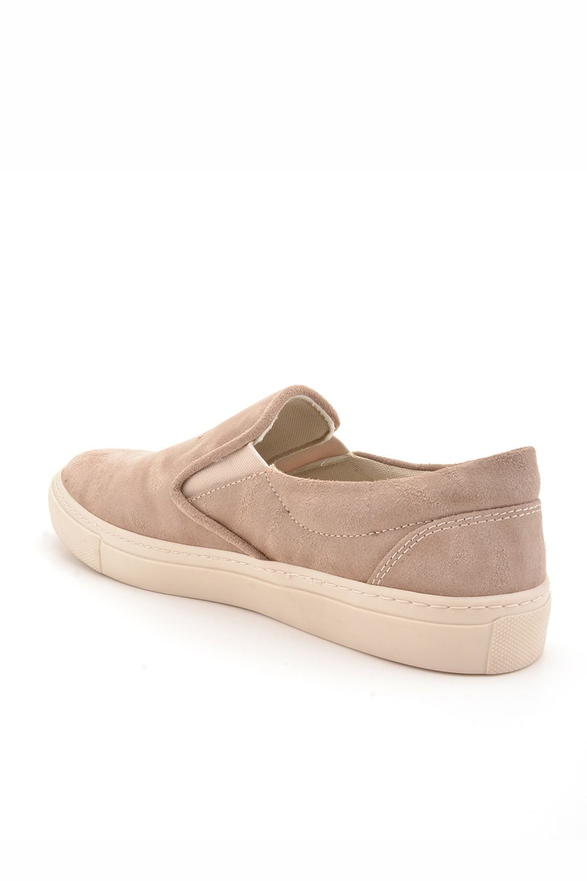 Art Goya Aged Women Sneakers From Genuine Leather Cream