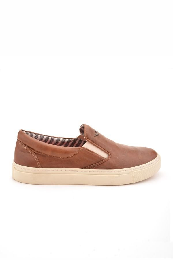 Art Goya Women Sneakers From Genuine Leather Brown