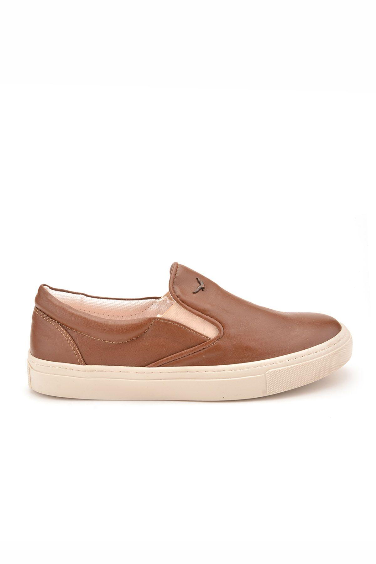 Art Goya Women Sneakers From Genuine Leather Brown