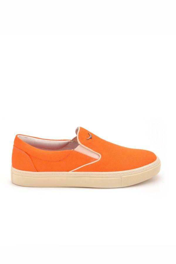 Art Goya Linen Women Sneakers Orange