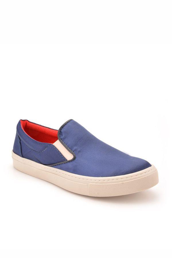 Art Goya Women Sneakers From Neoprene Navy blue