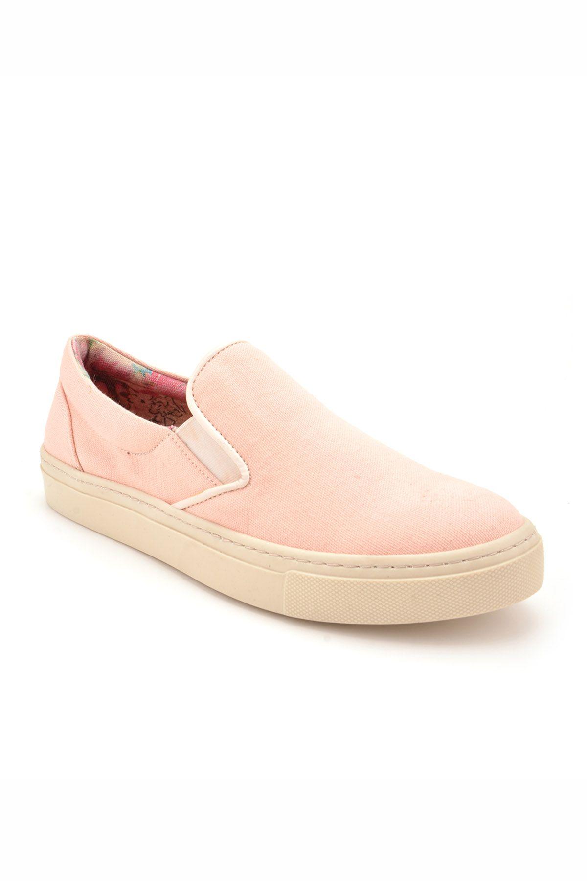 Art Goya Linen Women Sneakers Pink