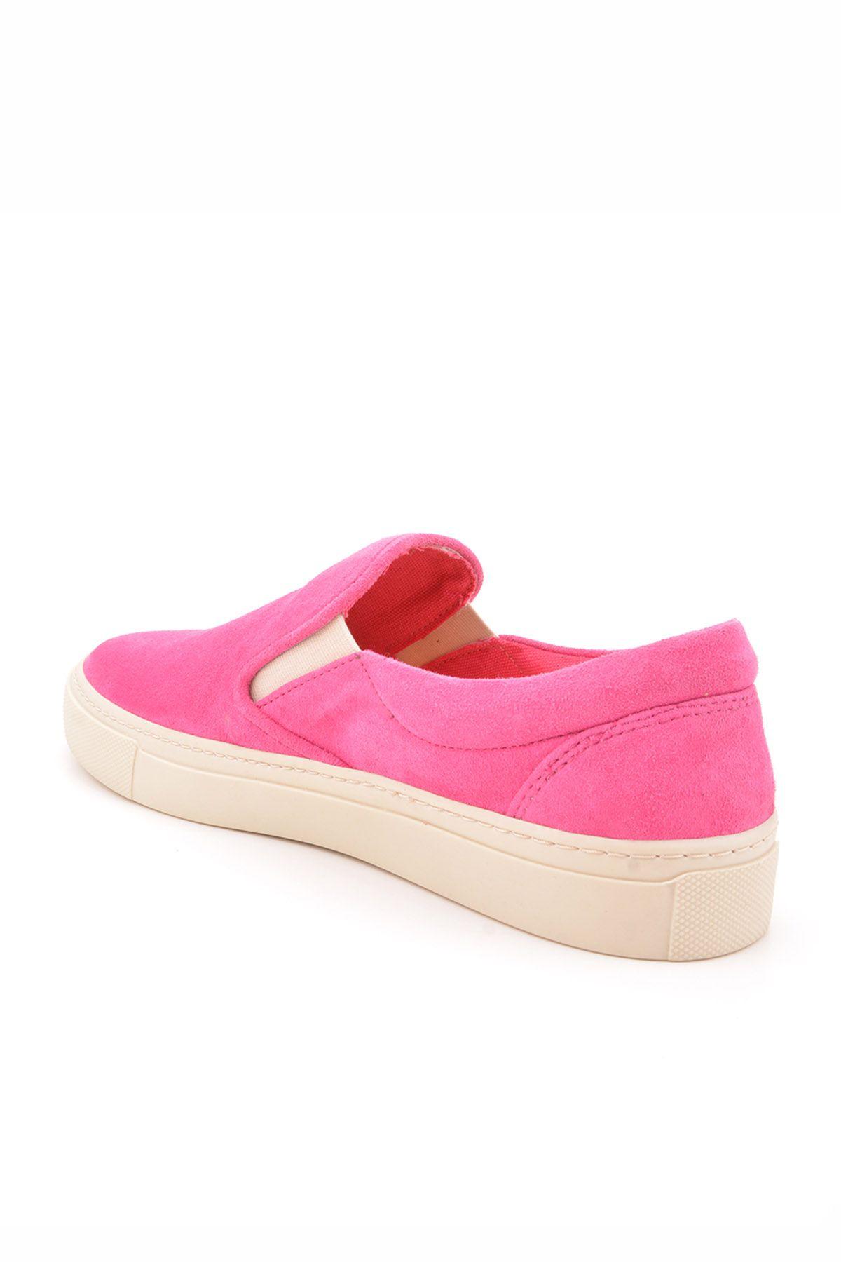 Art Goya Women Sneakers From Genuine Nubuck Pink