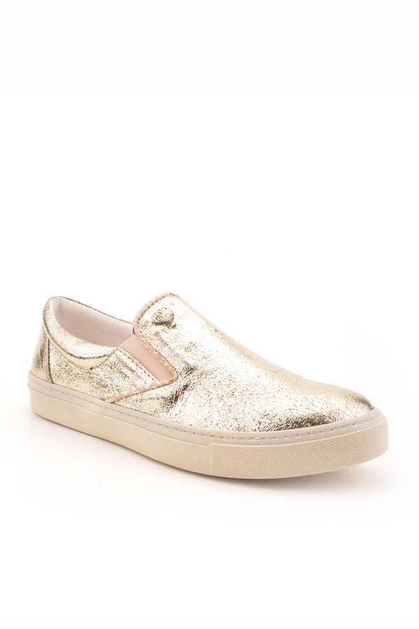 Art Goya Women Sneakers Golden