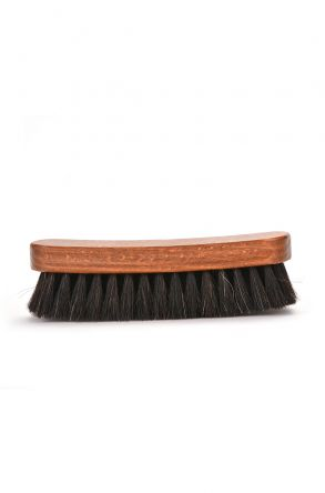 Erdogan Deri Blink Horse Hair Brush For Shoe Cleaning Black