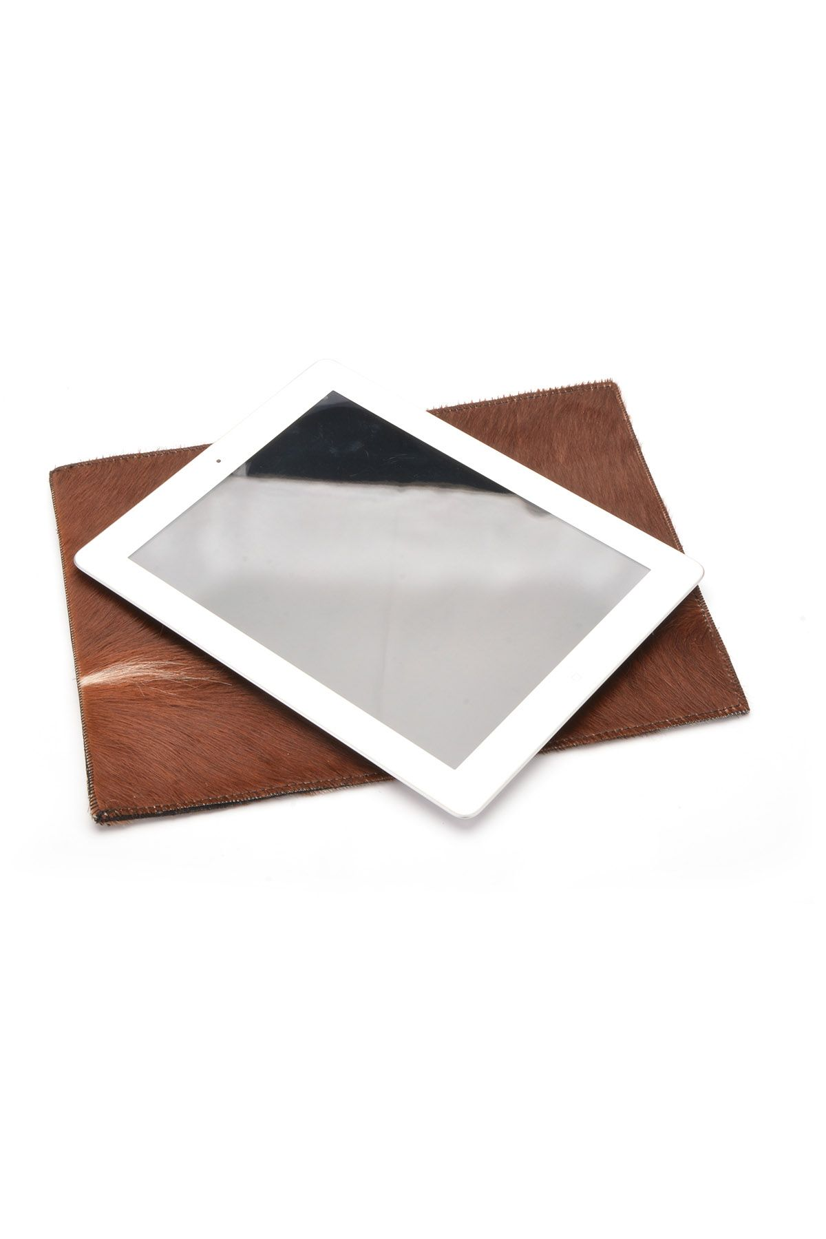Pegia Shell Case For Tablet From Cavallino Genuine Leather Natural