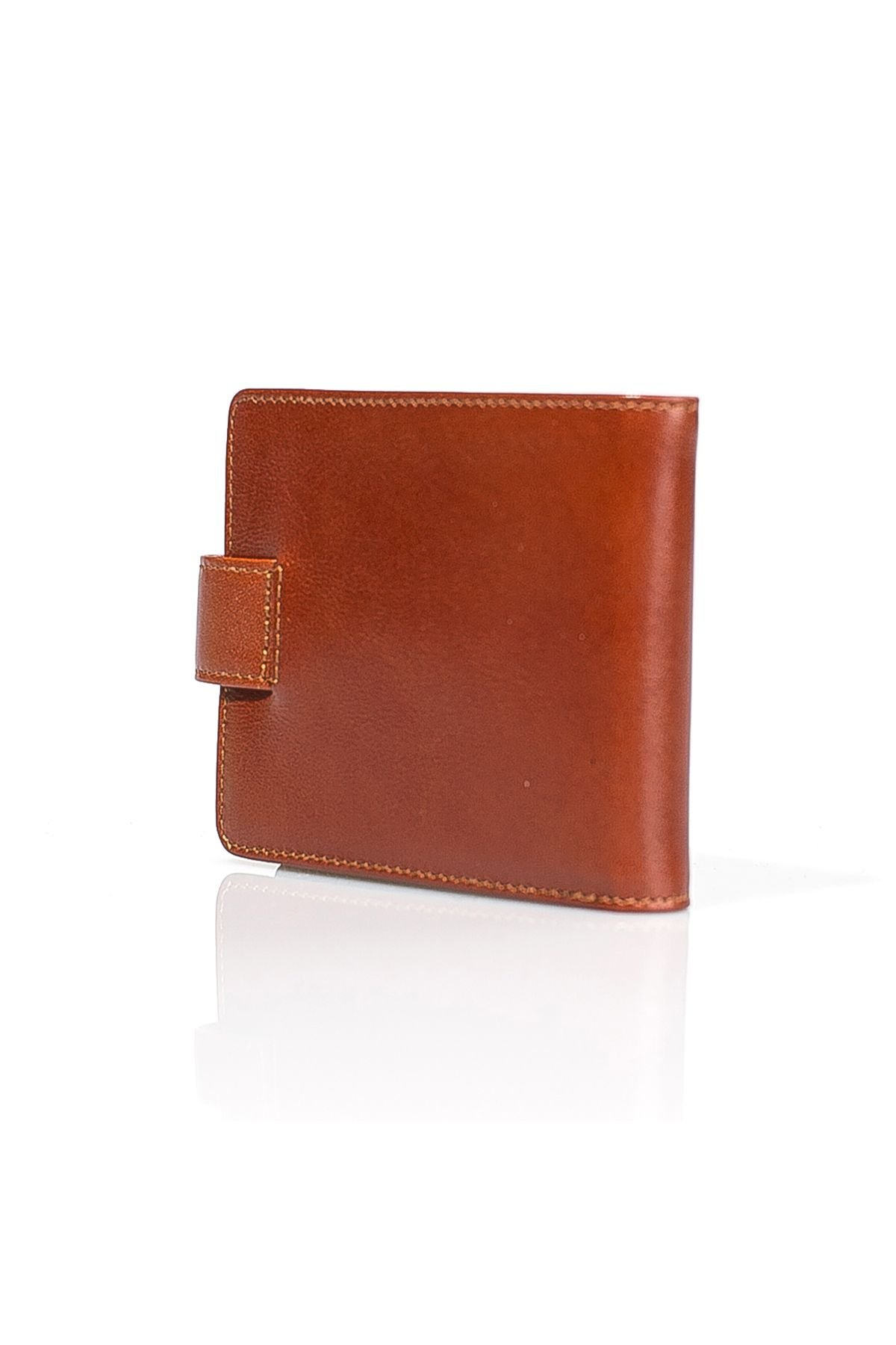 White Rabbit Leather Wallet Brown