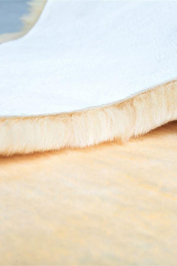 Sheepy Care Medical Sheepskin For Bed Natural