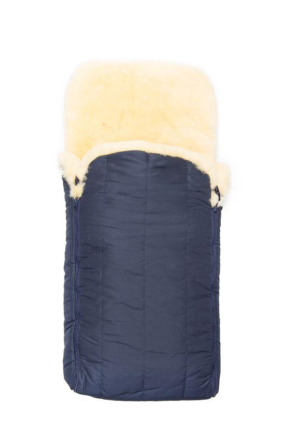 Sheepy Care Double Zippered Baby Sleeping Bag Navy blue