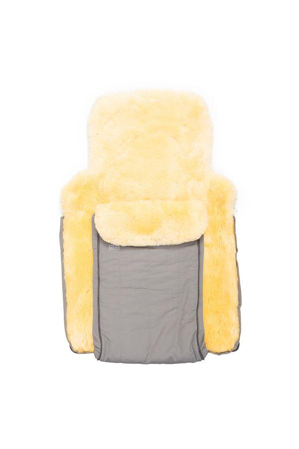 Sheepy Care Double Zippered Baby Sleeping Bag Gray