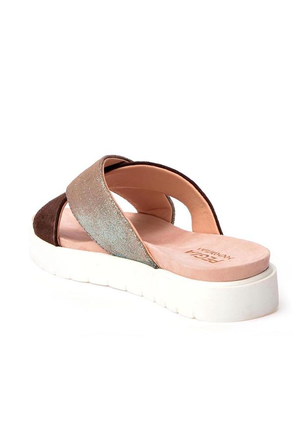 Pegia La Ferme Women Slippers From Genuine Leather Mint