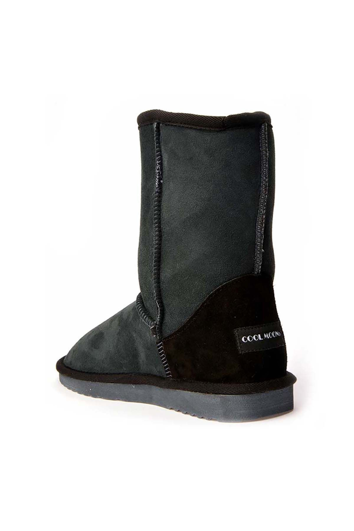 Cool Moon Classic Women Uggs From Genuine Suede Navy blue