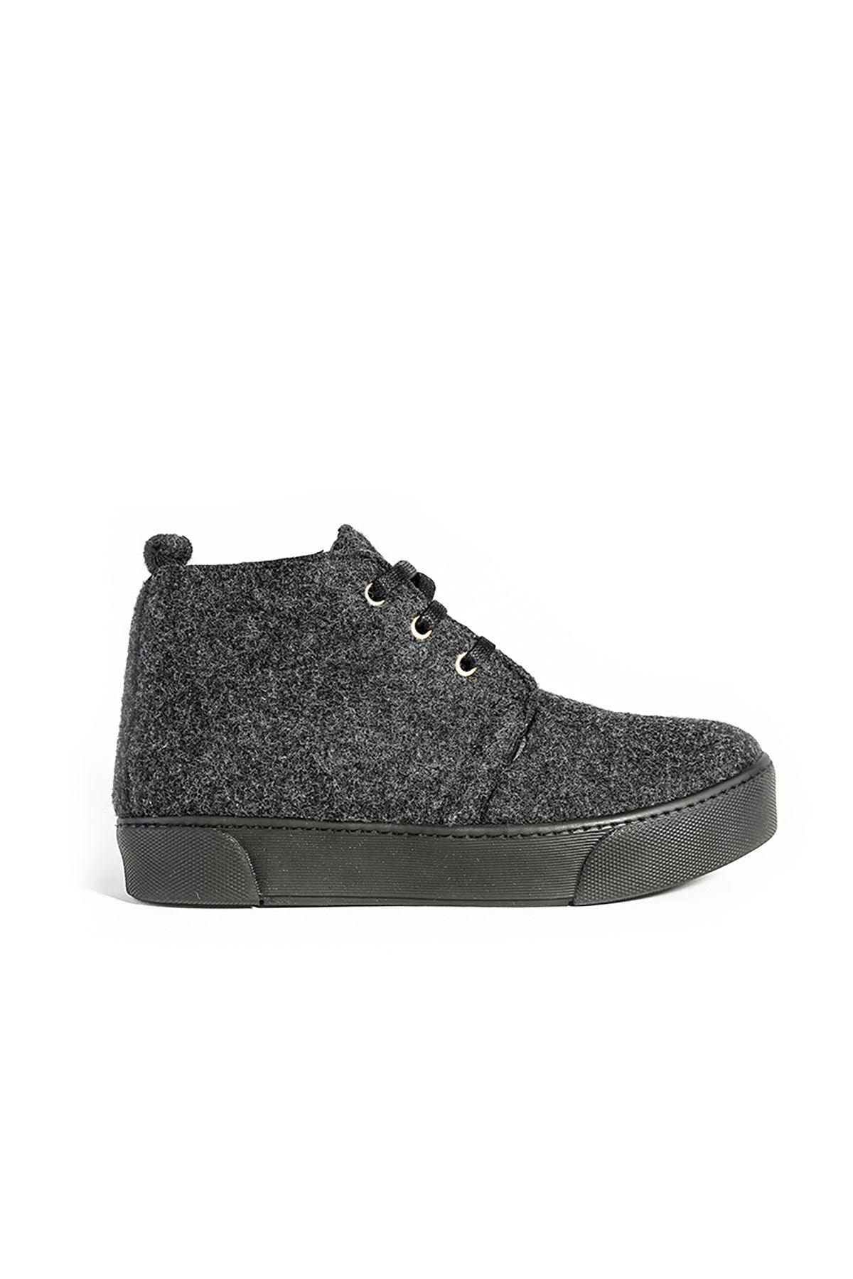 Art Goya Women Sneakers From Genuine Fur And Cashmere Gray