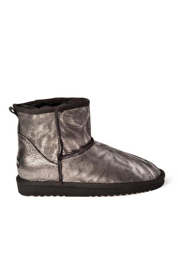Cool Moon Women Uggs From Genuine Fur Silver