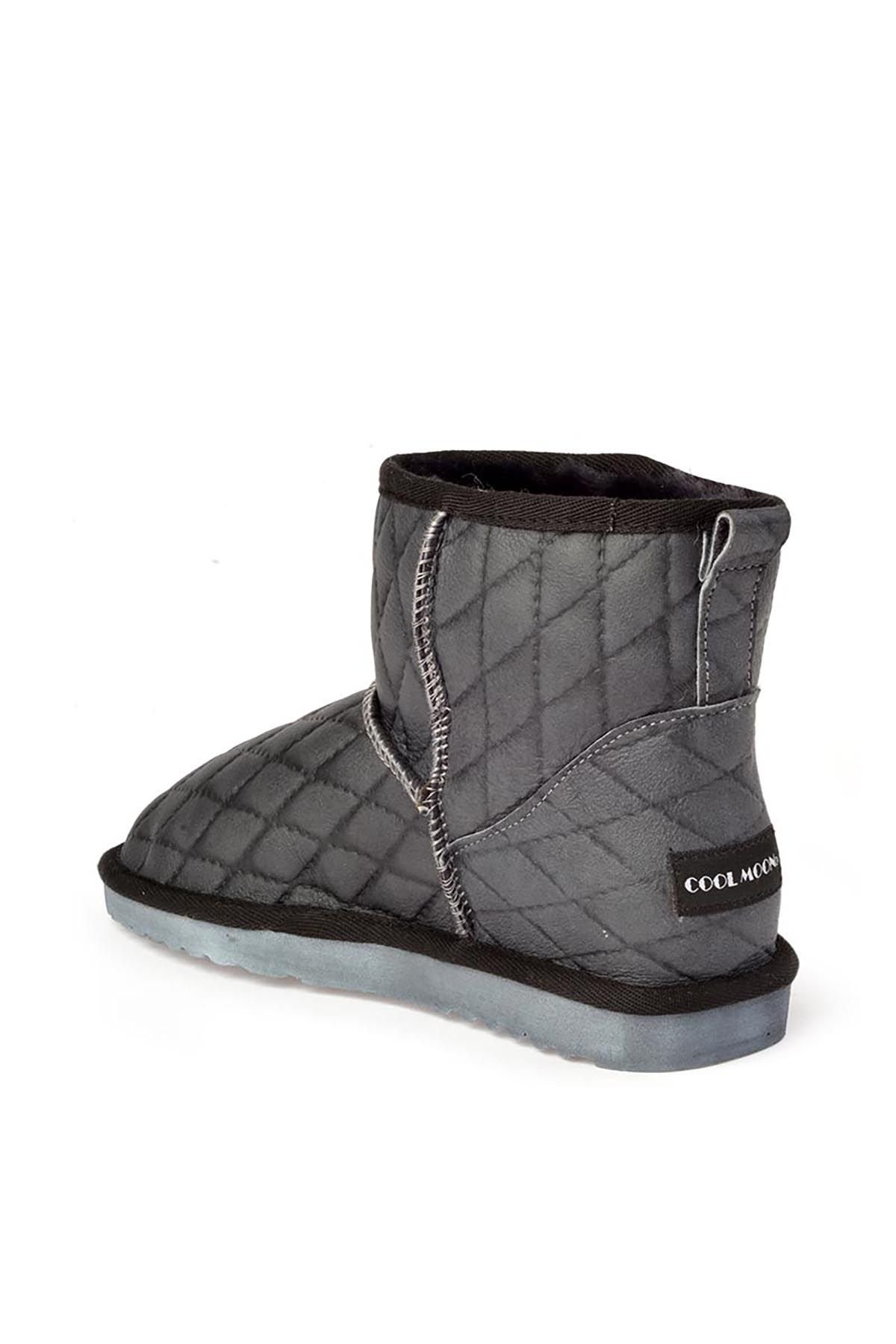 Cool Moon Quilted Women Uggs From Genuine Fur Brown