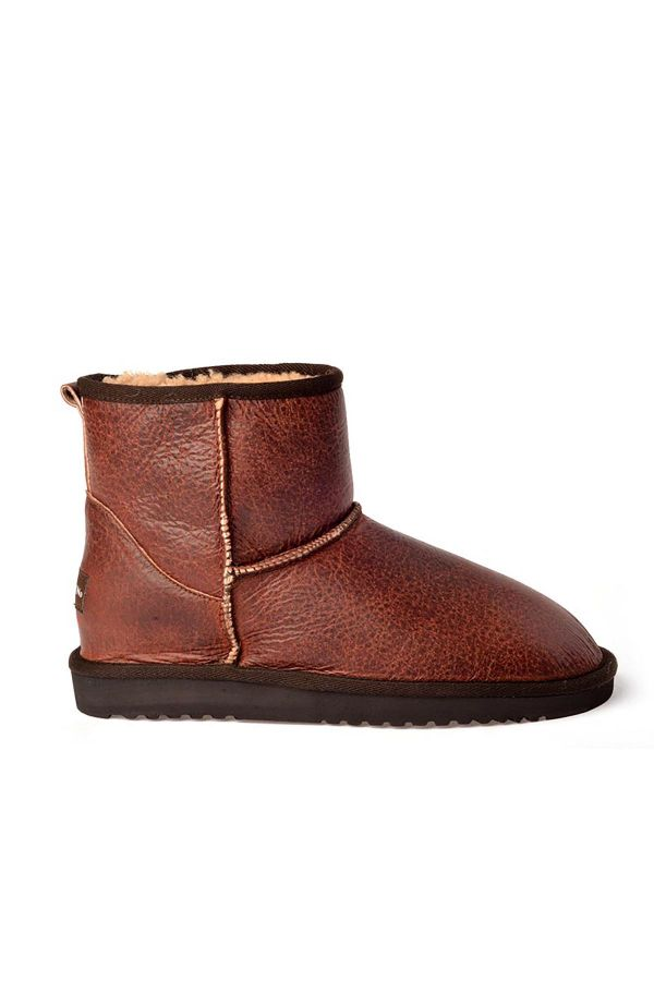 Cool Moon Women Uggs From Genuine Fur Claret red