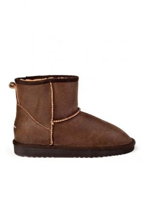 Cool Moon Women Uggs From Genuine Fur Brown