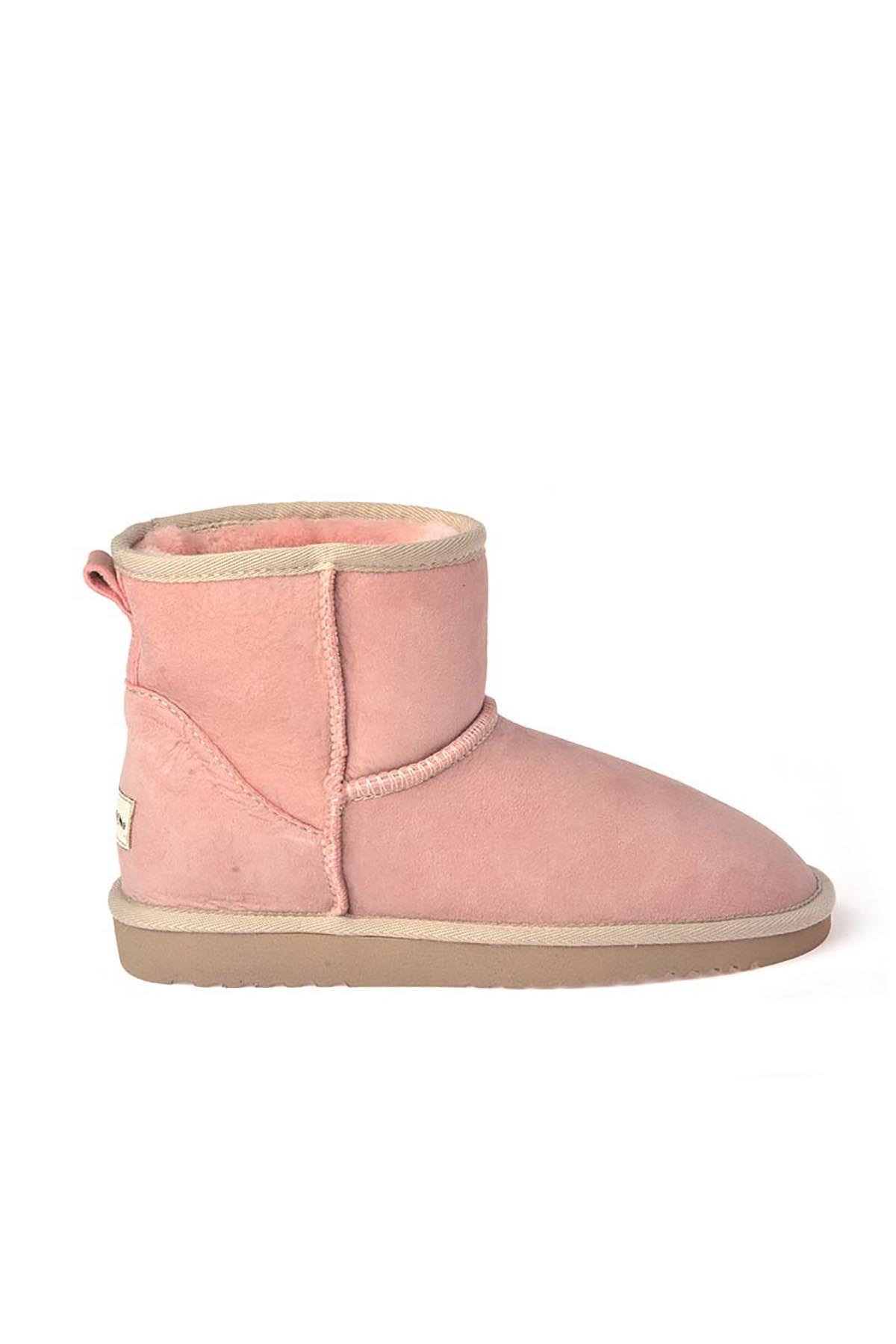 Cool Moon Women Uggs From Genuine Fur Pink