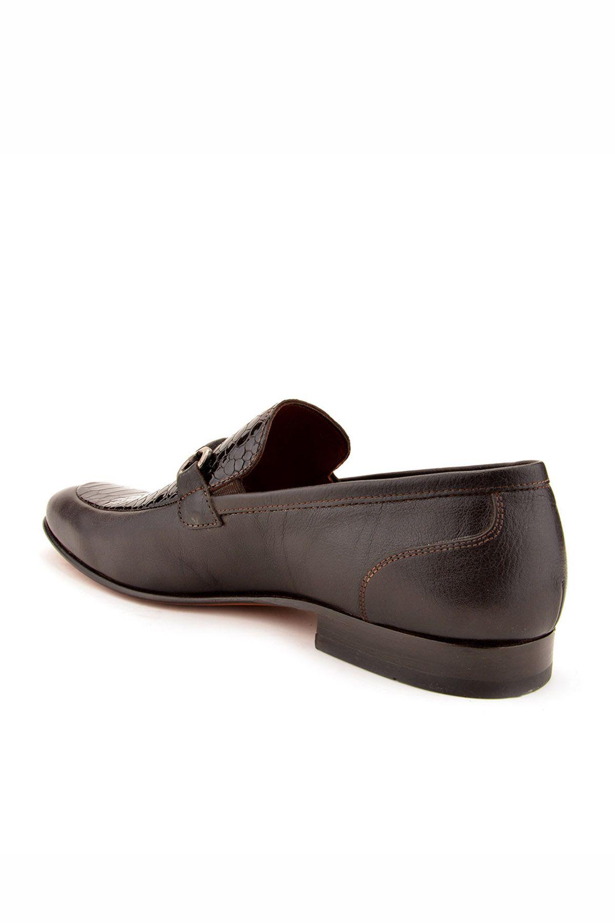 Koza Мужские Туфли Из Натуральной Кожи  Черный