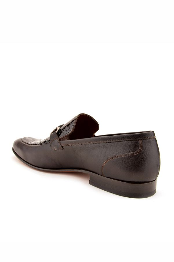 Koza Hakiki Deri Erkek Ayakkabı KZ20582 Black