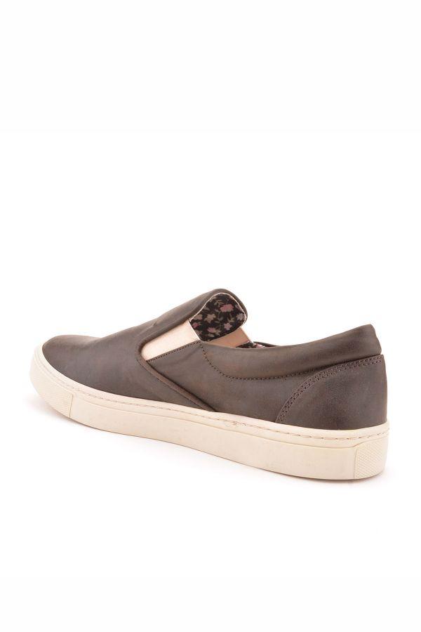Art Goya Women Sneakers From Genuine Leather Dark Brown